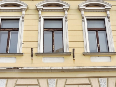 baroque, building, window, facade, architecture, house, old, outdoors