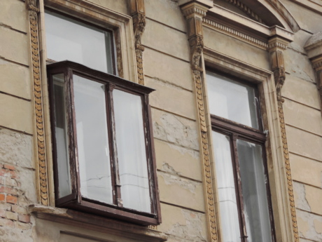 house, window, architecture, building, wall, old, facade, urban