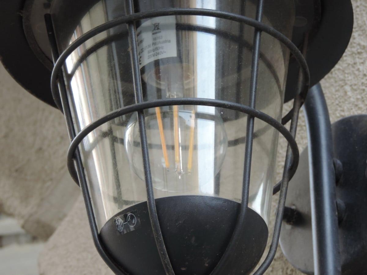 lyhty, lamppu, teräs, valo, teollisuus, moderni, Silitysrauta, laitteet
