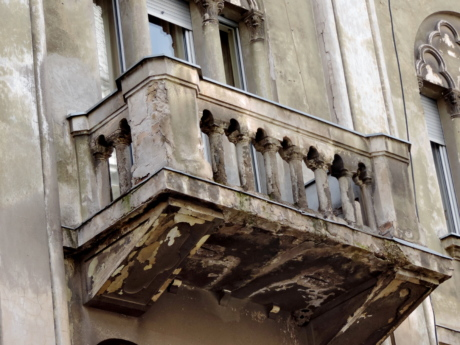 baroque, heritage, architecture, balcony, building, old, window, house