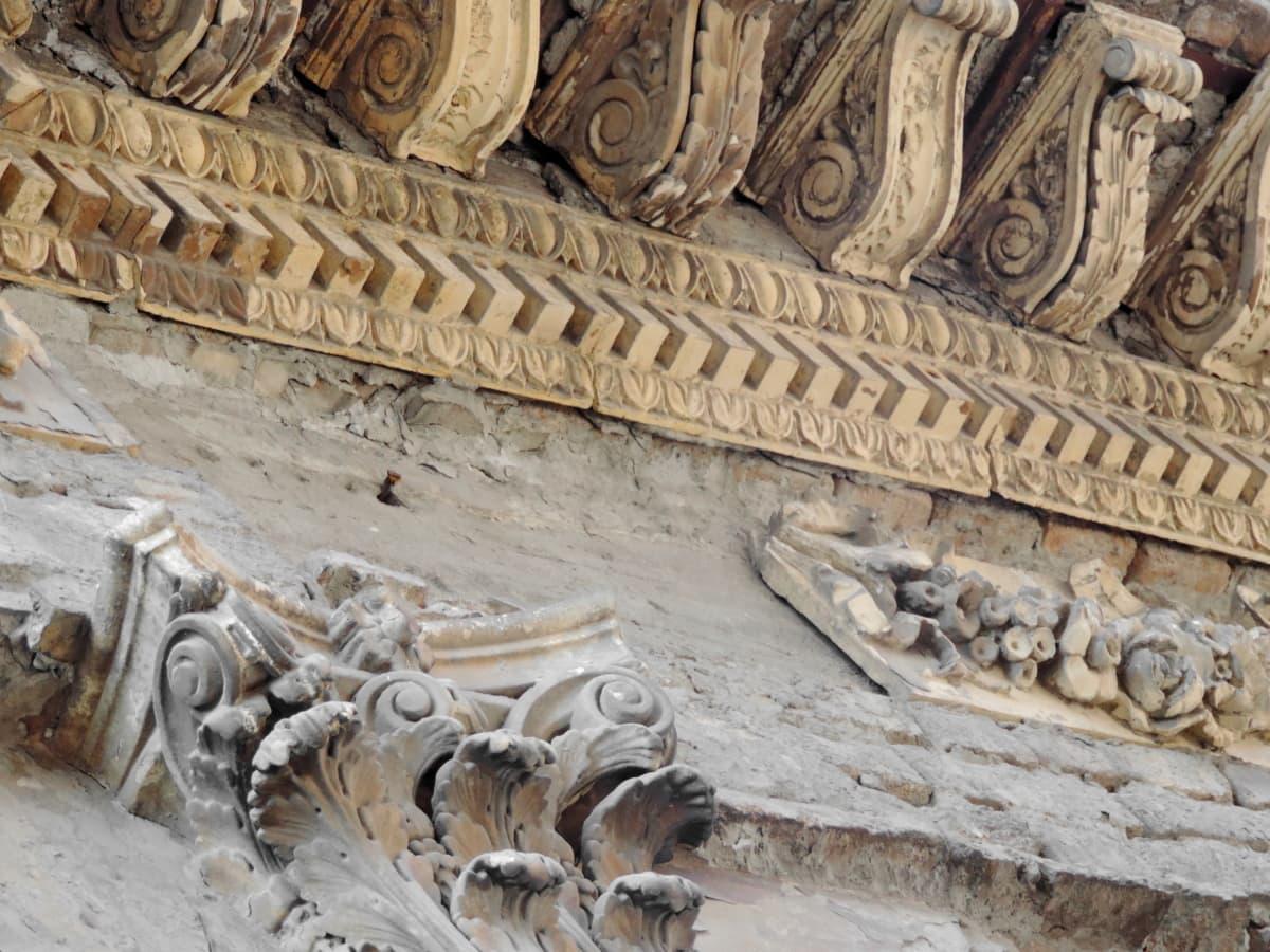 verlassen, Archäologie, Erbe, Relief, Ruine, Architektur, Skulptur, Schnitzen