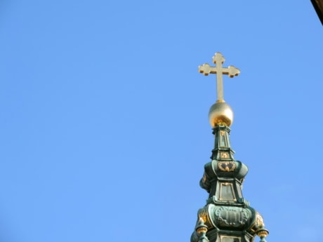 baroque, christianity, cross, gold, orthodox, Serbia, spirituality, architecture