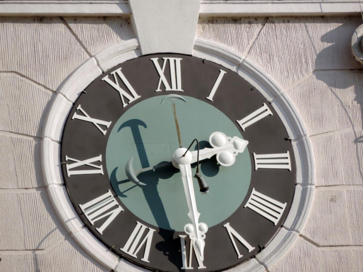 Zeit, Uhr, Geschäft, Präzision, Runde, Minute, Technologie, Architektur