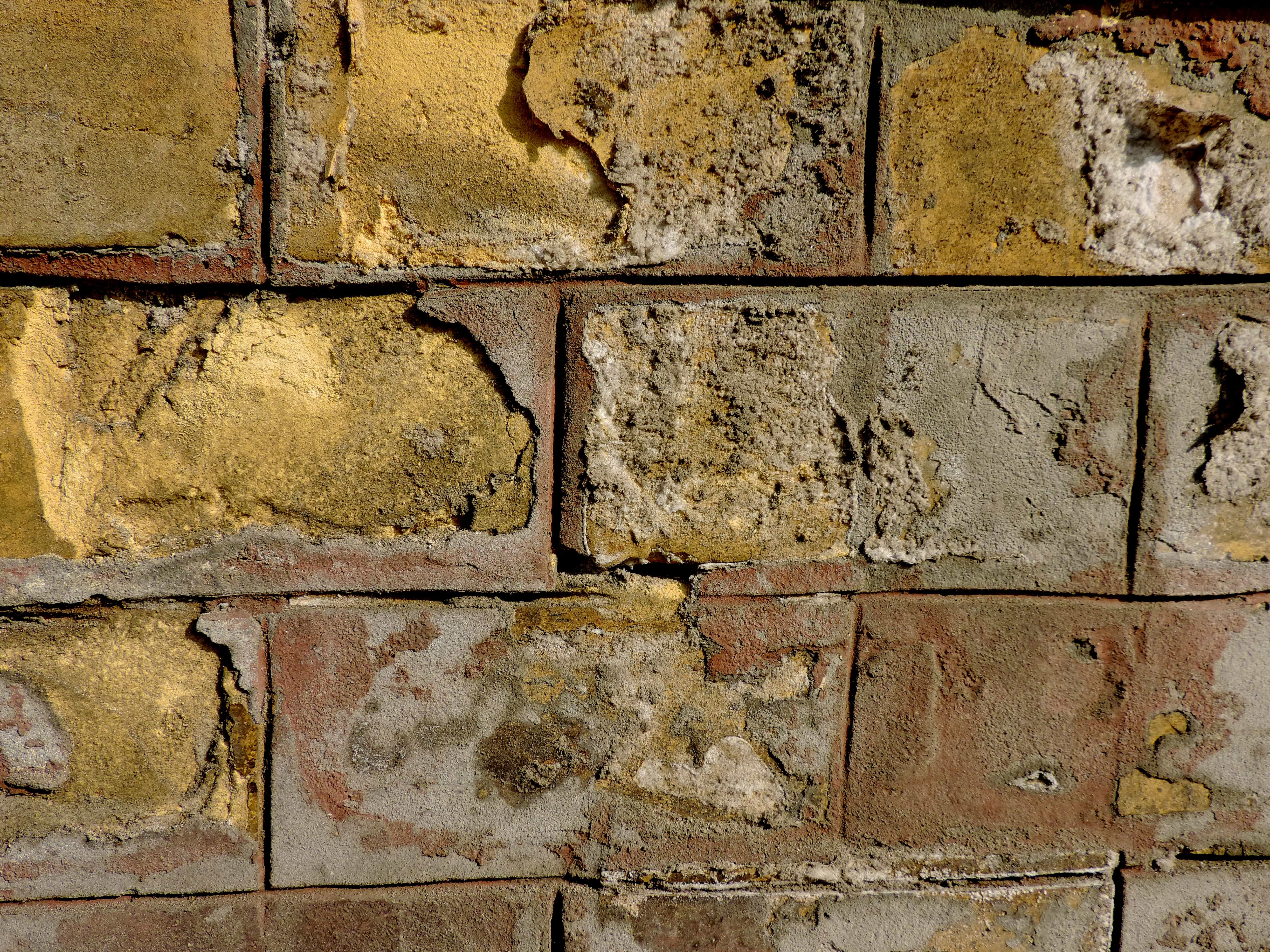 Free Picture Wall Cement Texture Brick Old Surface