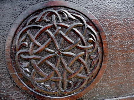 arabesque, carving, handmade, ornament, wood, texture, old, manhole cover