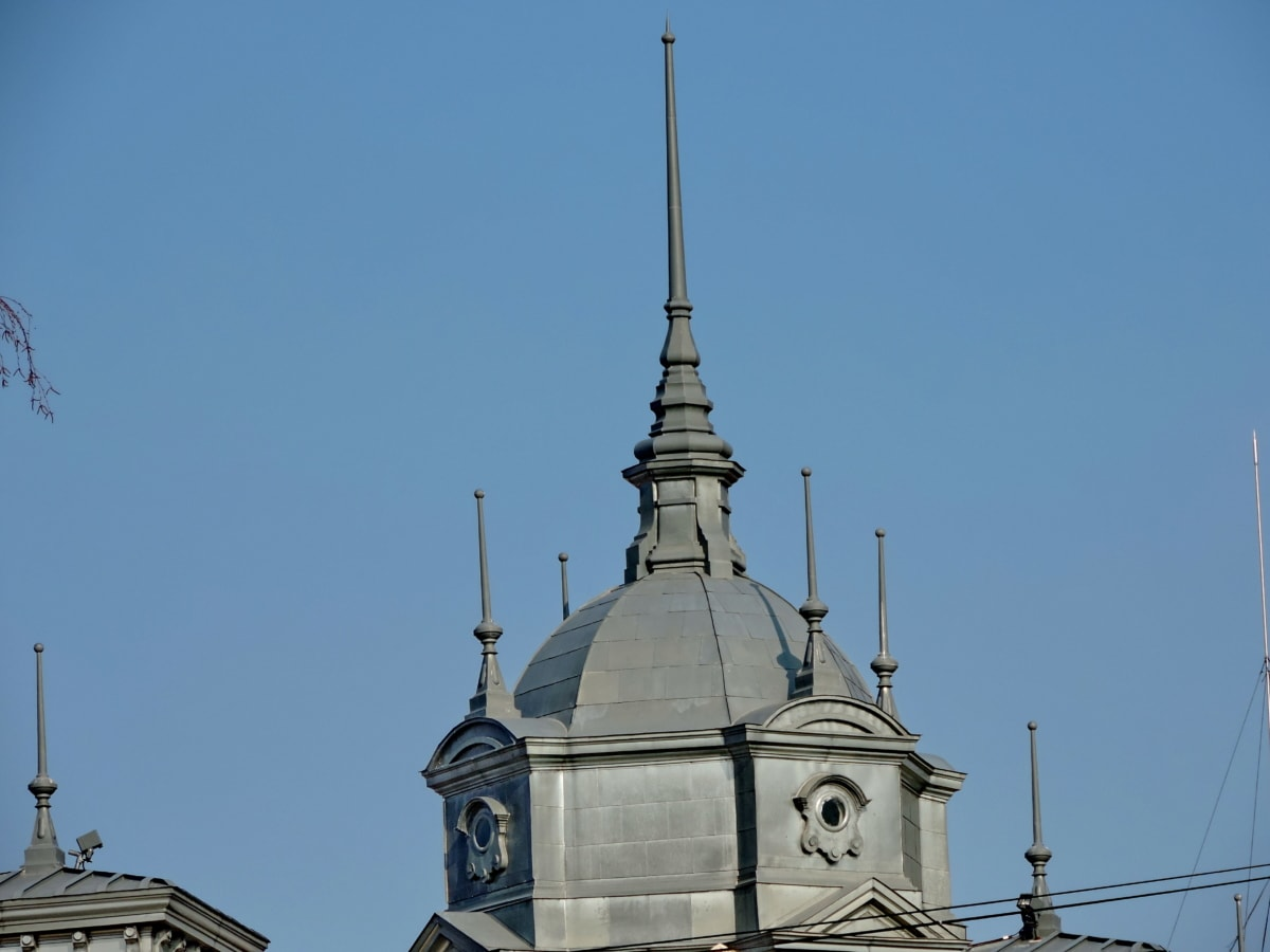 støbejern, håndlavede, tårn, kupoli, religion, Tag, arkitektur, kirke