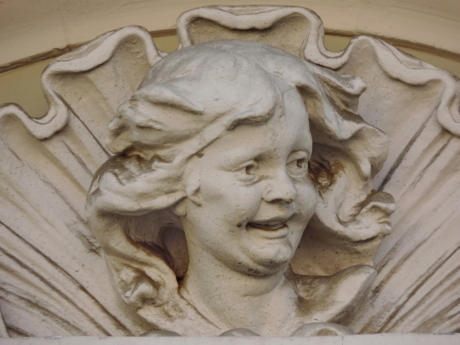 visage, marbre, statue de, art, sculpture, religion, monument, baroque