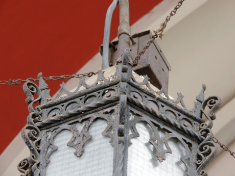 abstract, cast iron, lantern, architecture, cathedral, decoration, religion, design