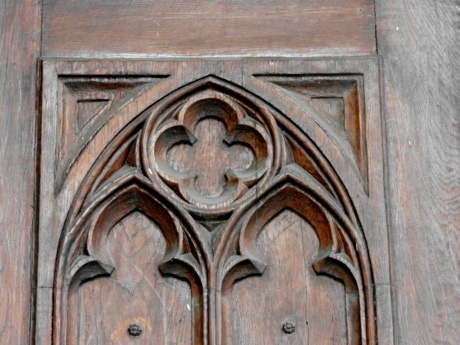 carving, Gothic, handmade, doorway, entrance, gate, door, architecture