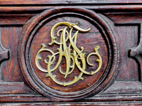 baroque, heraldry, symbol, wood, old, iron, wooden, door