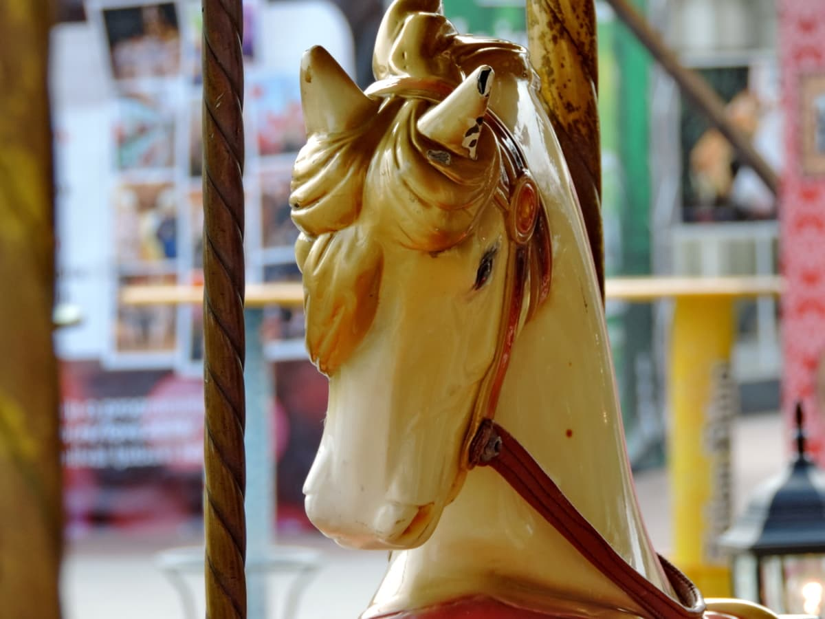 mechanism, carousel, street, city, traditional, outdoors, shopping, culture
