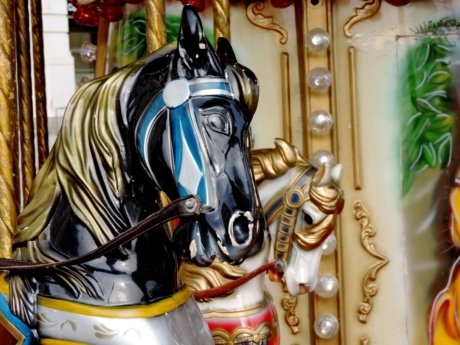 horse, carousel, decoration, design, traditional, luxury, retro, vintage