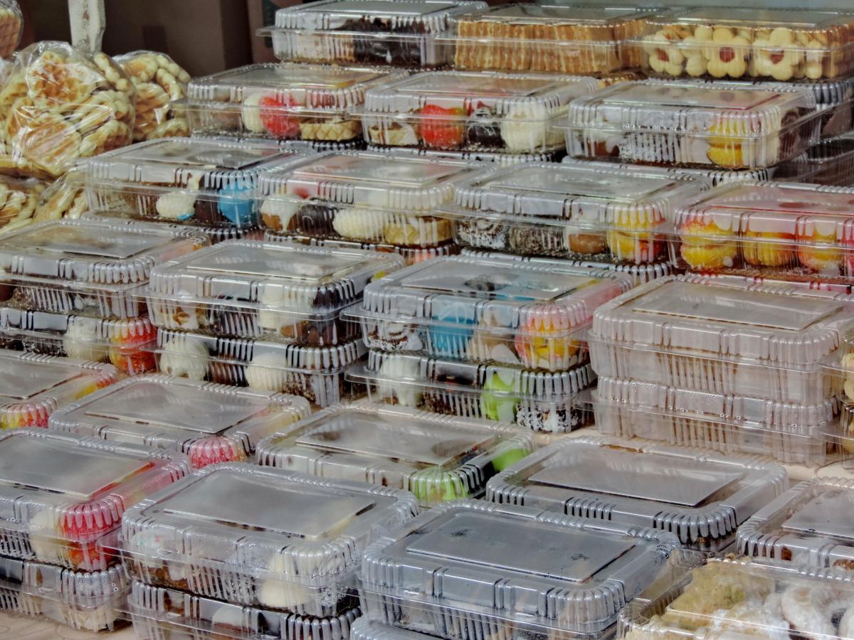 kex, småkakor, paketet, plastpåse, Shop, stormarknad, marknad, marknaden