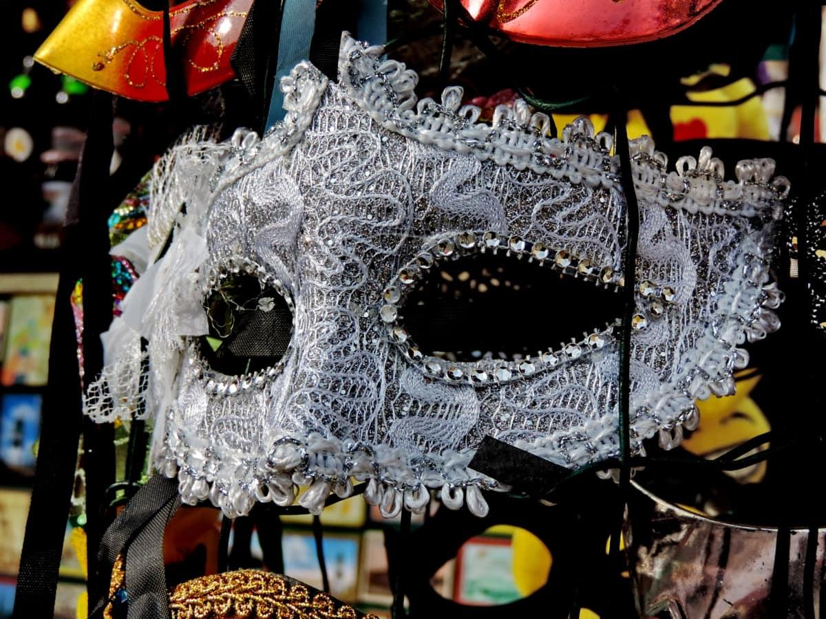 atuendo, máscara, disfraz, Festival, diseño, partido, mercado, decoración