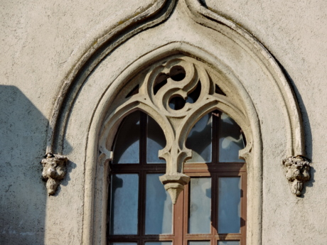 arabesque, Gothic, window, facade, architecture, building, old, ancient