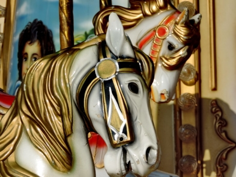 fun, toys, carousel, mechanism, sculpture, decoration, art, statue