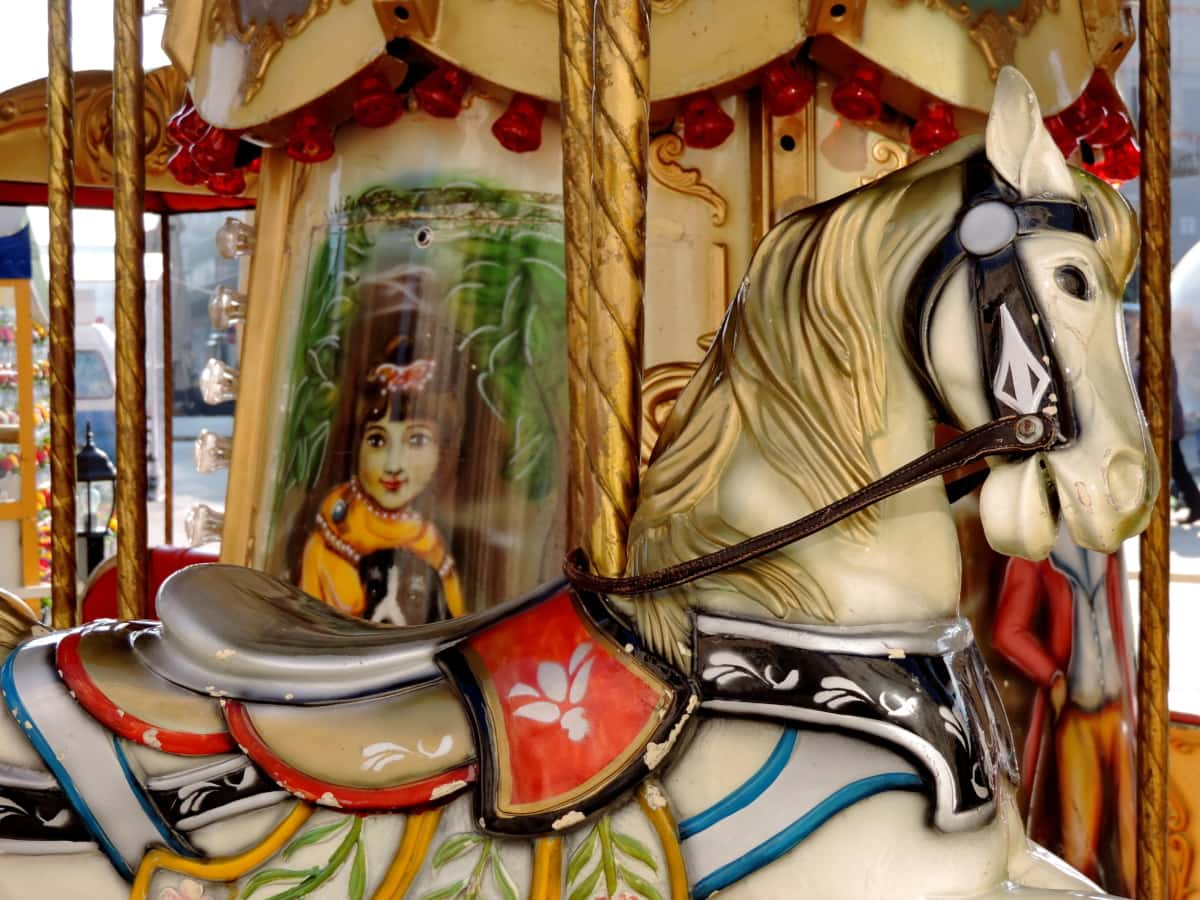 mechanism, carnival, carousel, entertainment, traditional, art, circus, culture