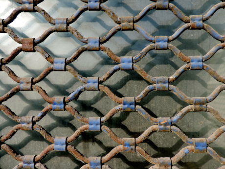 cast iron, glass, metal, shadow, fence, material, texture, pattern
