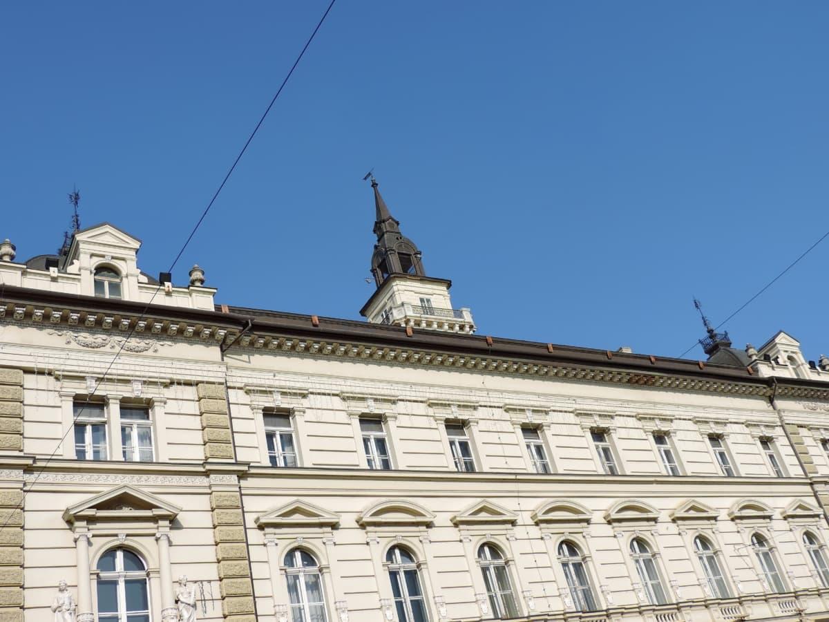 het platform, huis, gebouw, gevel, residentie, Paleis, stad, oude