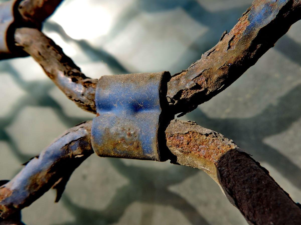 öntöttvas, Részletek, kézzel készített, rozsda, lánc, vas, acél, régi