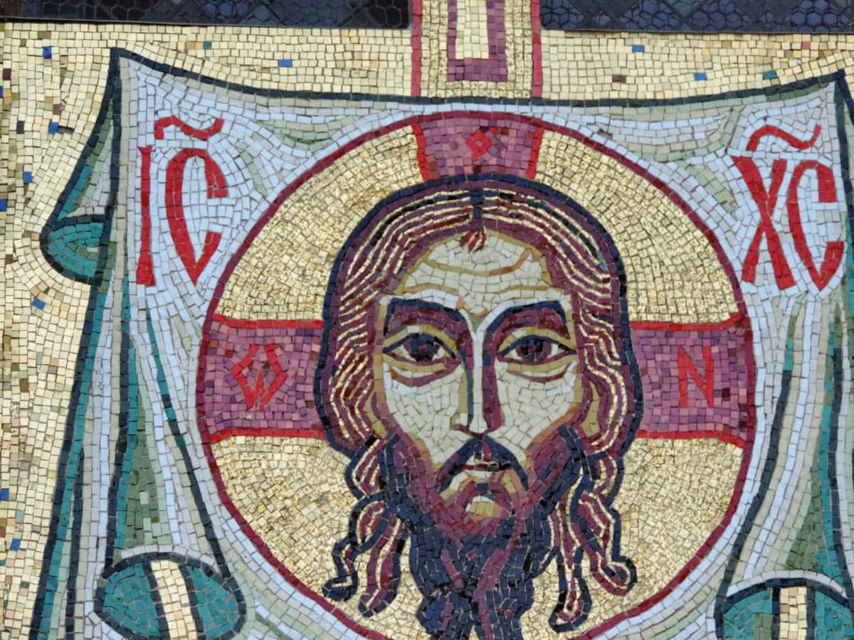 Krisztus, kereszténység, mozaik, Művészet, kultúra, régi, vallás, fal
