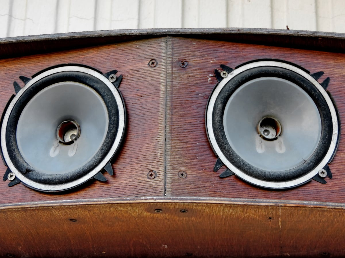 ήχου, ηχείο, ένταση, ήχος, μεγάφωνο, μουσική, ενισχυτής, παλιά