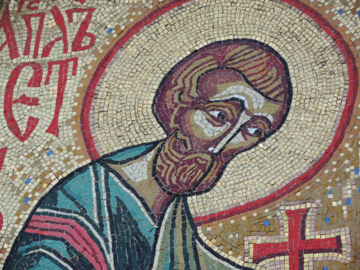 mosaic, religion, art, culture, Byzantine, old, church, wall