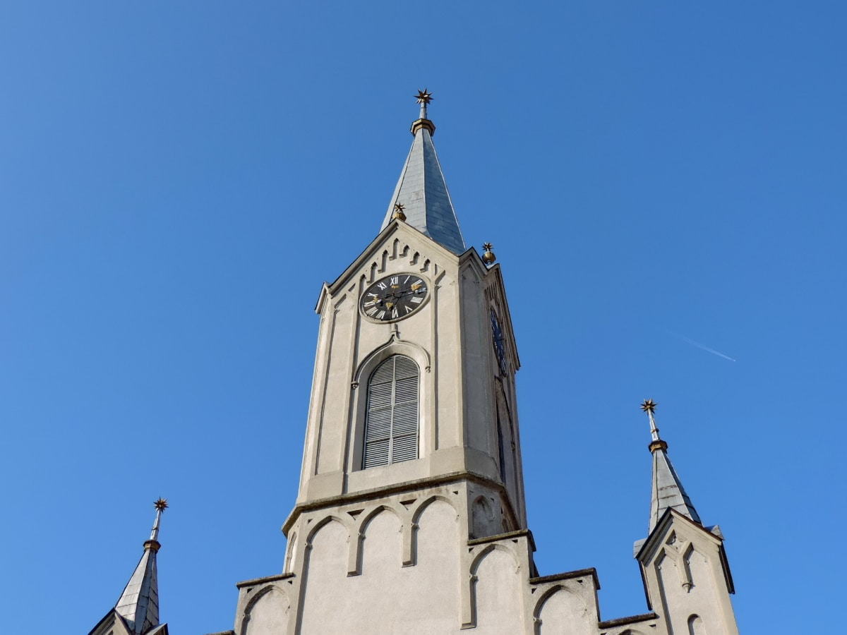 church tower, Gothic, building, cathedral, religion, shelter, architecture, church
