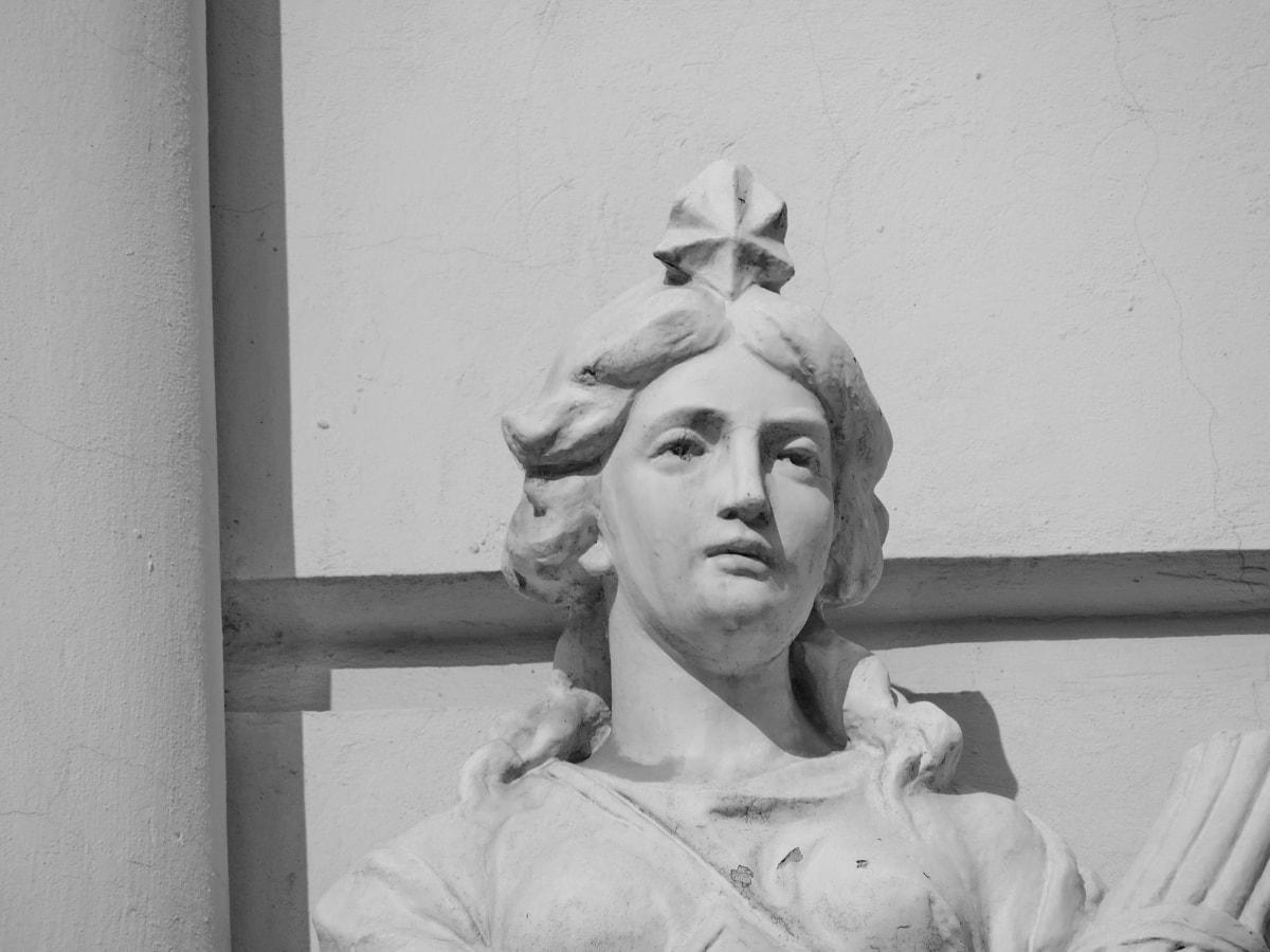 svart och vitt, byst, ansikte, Monokrom, drottning, porträtt, kvinna, grupp