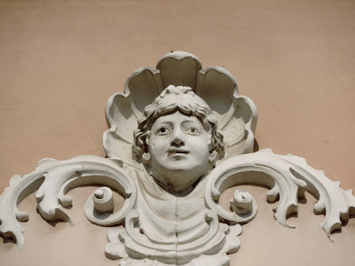 religion, skulptur, statue, kunst, dekoration, gamle, folk, marmor