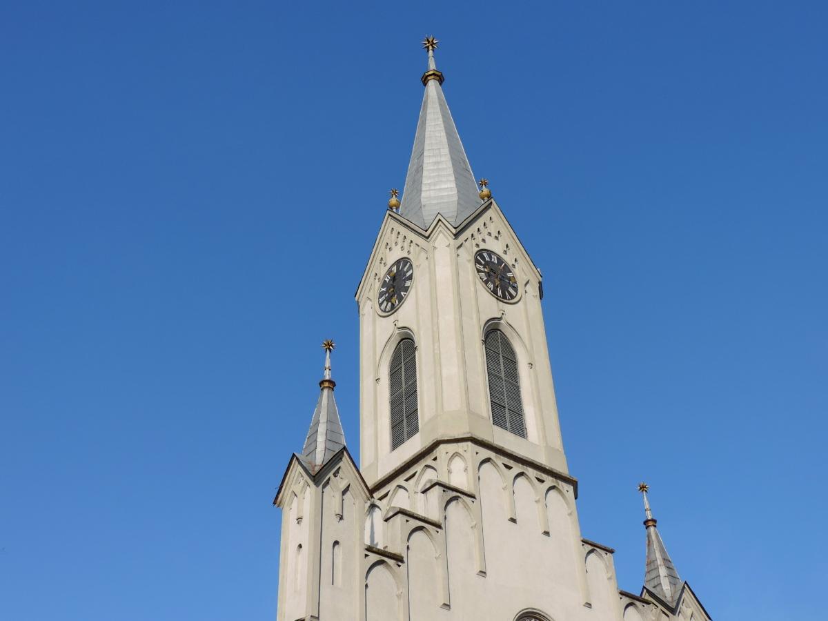 Torre de la iglesia, religión, arquitectura, Iglesia, Catedral, antiguo, construcción, Torre