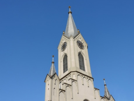 church tower, religion, architecture, church, cathedral, old, building, tower