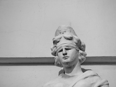 bust, justice, portrait, sculpture, statue, people, man, veil