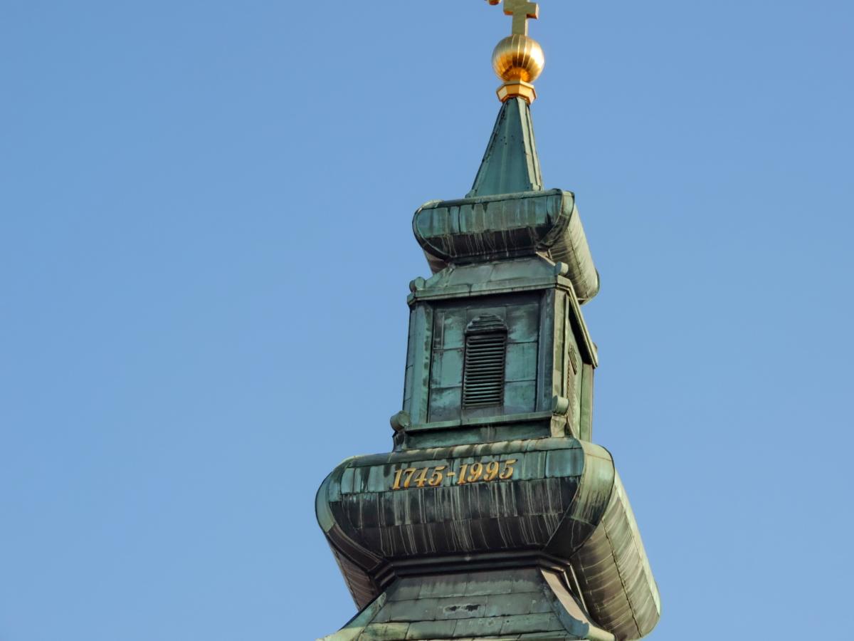 духовност, архитектура, устройство, сграда, църква, стар, град, скулптура