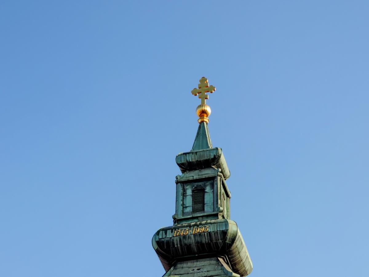 Kapel, kristendommen, kirketårnet, ortodokse, temppeli, kirke, bygning, religion