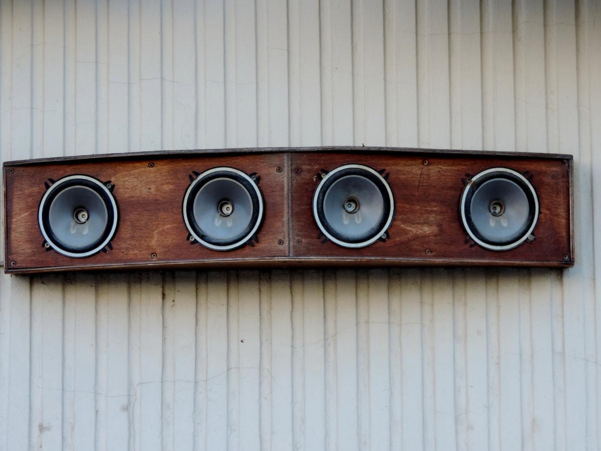 hang, zene, hangszóró, hangszóró, Audio, eszköz, berendezések, sztereó