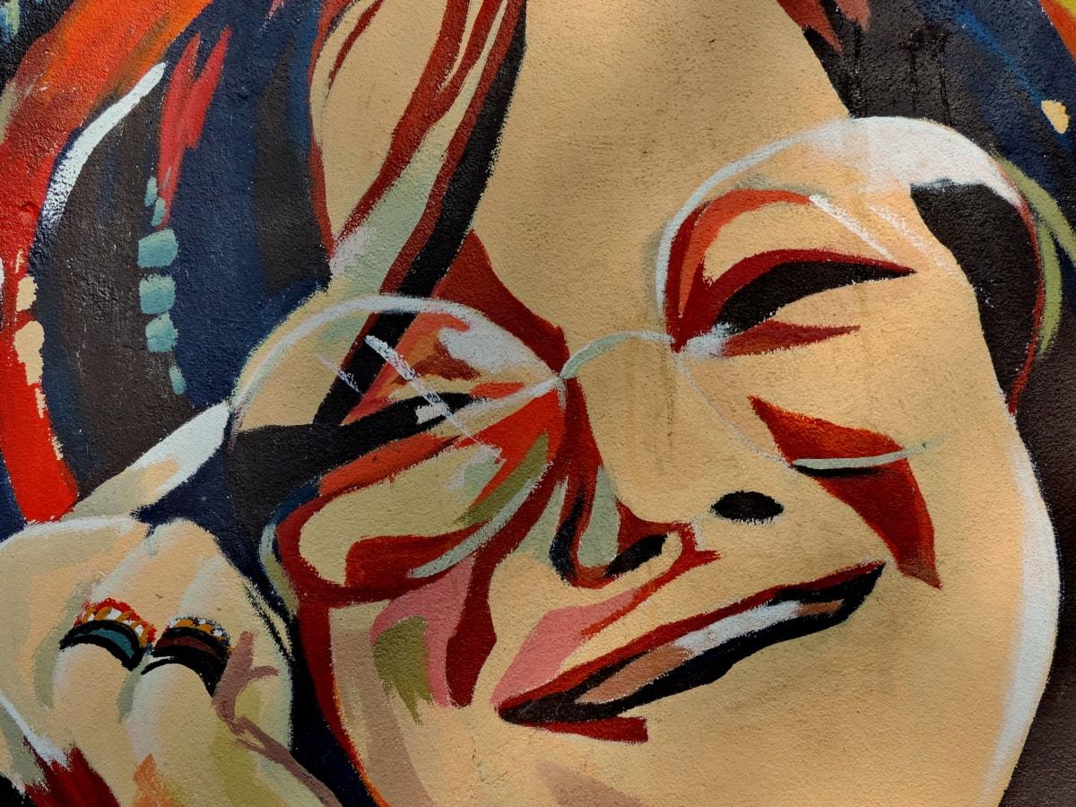 πρόσωπο, πορτρέτο, γυναίκα, τέχνη, καλλιτεχνική, ενδυμασία, είδη ένδυσης, χρώμα