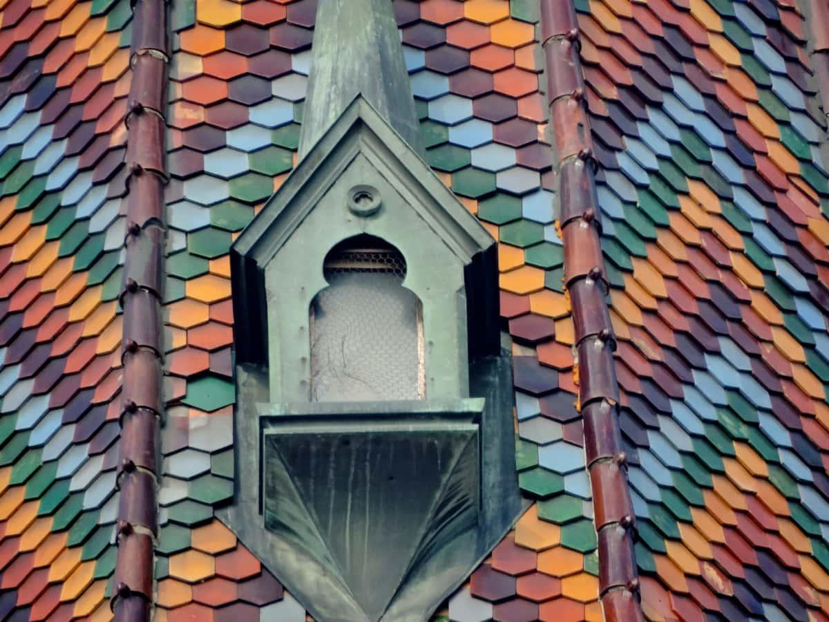 Architektur, Religion, Bedachungen, Erstellen von, Fliese, Dach, Kirche, Textur