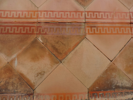 tile, retro, dirty, old, antique, architecture, art, ancient