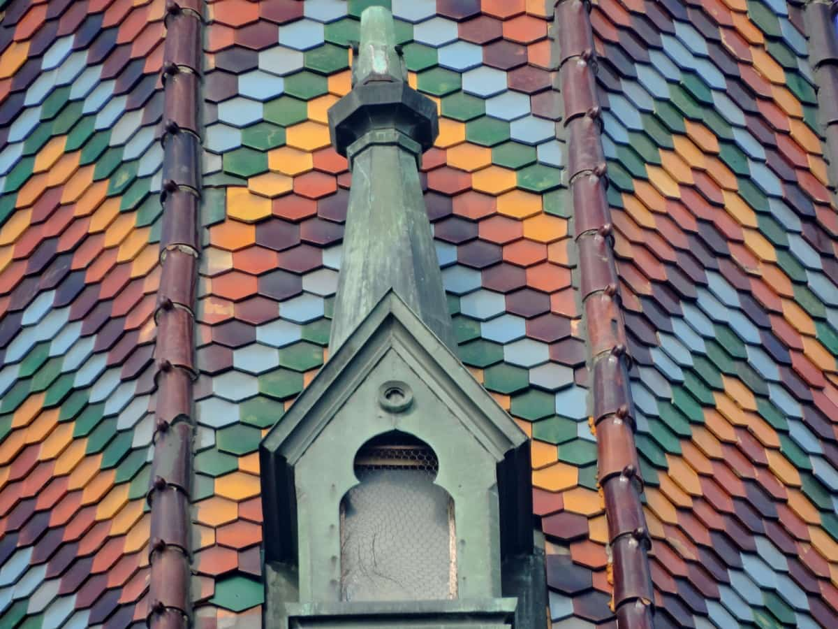покрив, архитектура, сграда, материал, покривни, църква, религия, модел