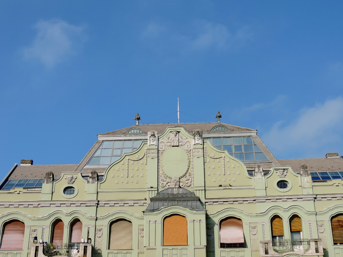 facade, building, dome, palace, architecture, house, roof, old