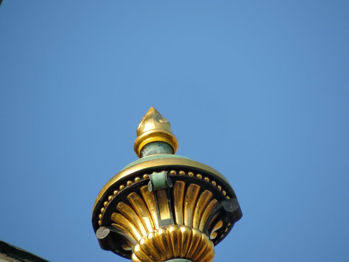 известни, архитектура, сграда, религия, църква, на открито, Злато, град