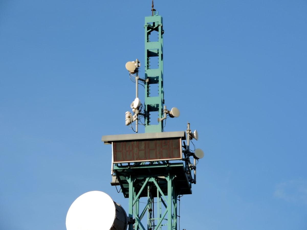 antena, telekomunikacija, televizija, prijenos, odašiljač, bežični, satelit, tehnologija