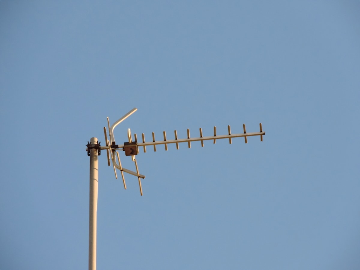 аналогов, антена, телевизия, Безжичен, технология, електричество, мощност, на открито