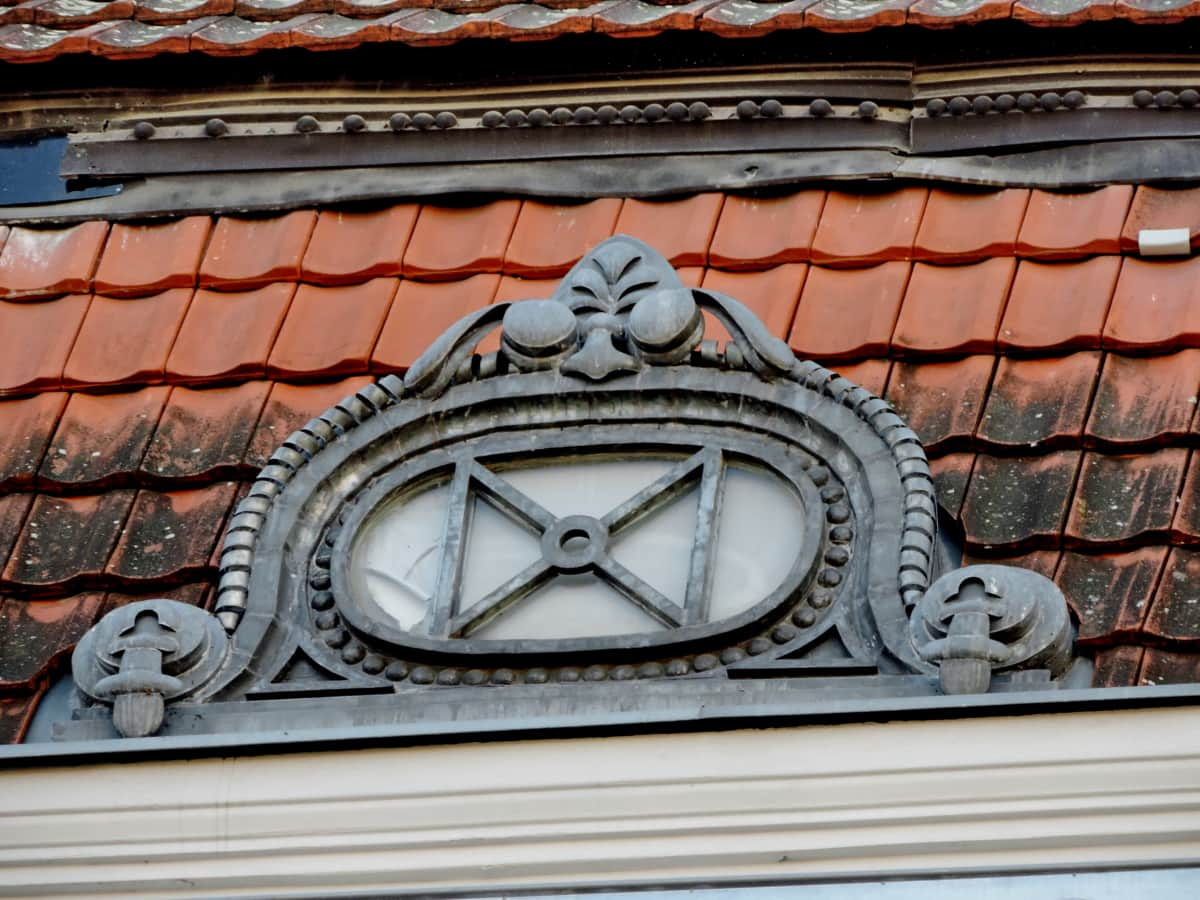 baroque, cast iron, fine arts, architecture, house, roof, building, old