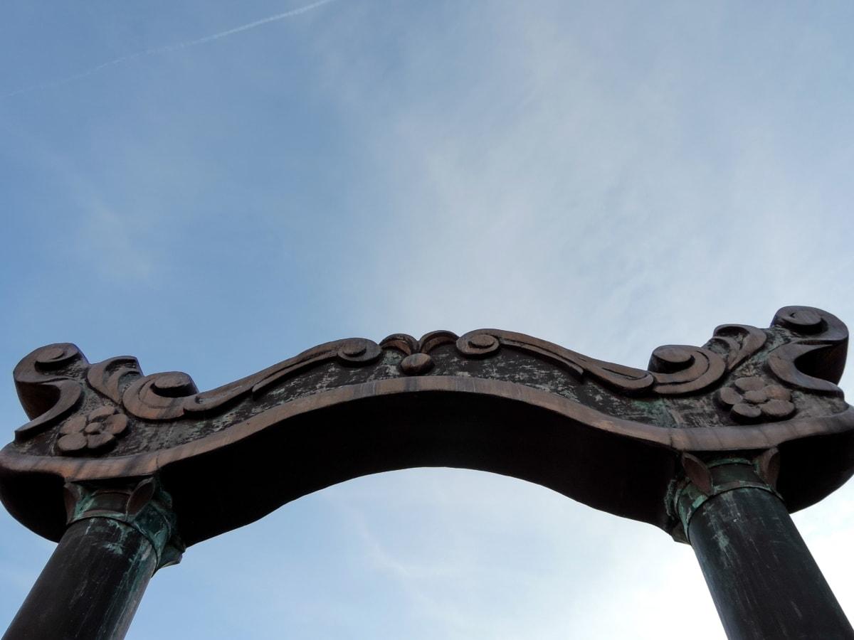 bronca, likovnih umjetnosti, vrata, pristupnik, spomenik, arhitektura, skulptura, umjetnost