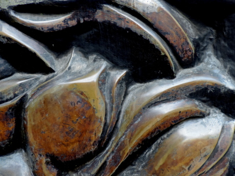 brass, bronze, metal, nature, seafood, industry, old, texture
