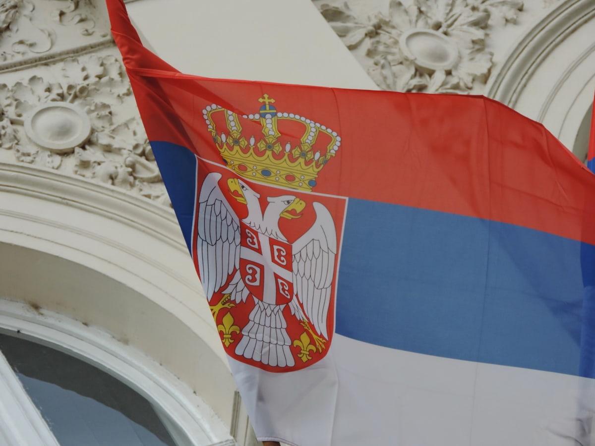pays, emblème, gouvernement, héraldique, indépendance, patriotisme, Serbie, administration