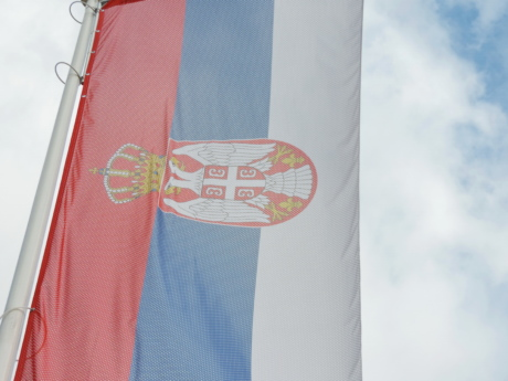 democracy, democratic republic, flag, independence, kingdom, republic, Serbia, outdoors