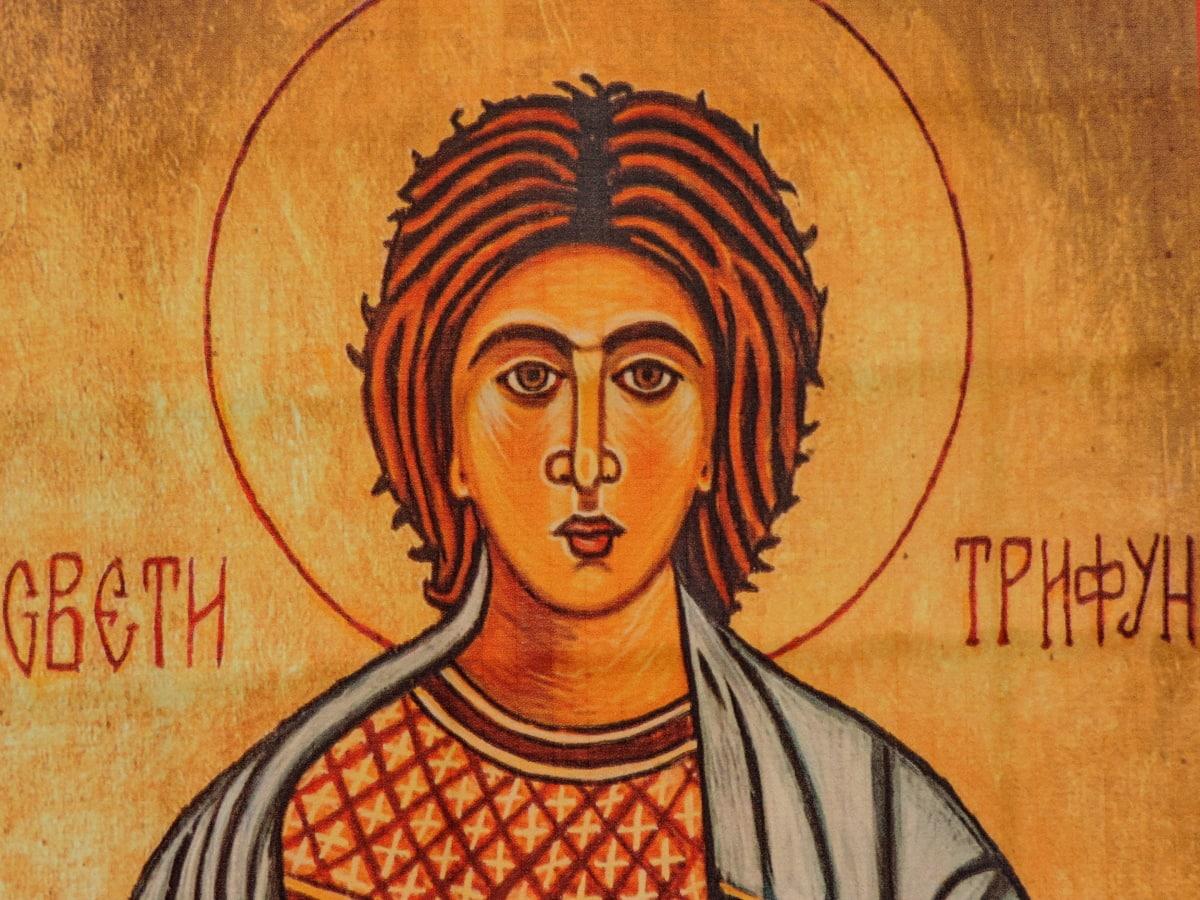 църква, стенопис, православна, Свети, Сърбия, изкуство, хора, илюстрация